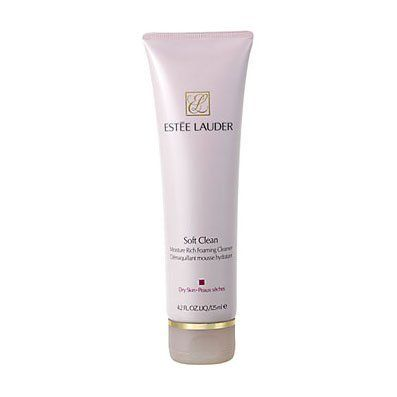 ESTEE LAUDER by Estee Lauder Soft Clean Moisture Rich Foaming Cleanser ( Dry Skin )--/4.2OZ - Cleanser by Estee Lauder. $22.99. Design House: Estee Lauder. Fragrance Notes: citrus, sweet fruits, flowers and sandalwood.. Recommended Use: romantic. Soft Clean Moisture Rich Foaming Cleanser ( Dry Skin )--/4.2OZ. Save 26% Off!