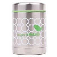 Matlåda rostfritt stål med termoseffekt. Kommer från OrganicKIdz och finns hos Ekokul.