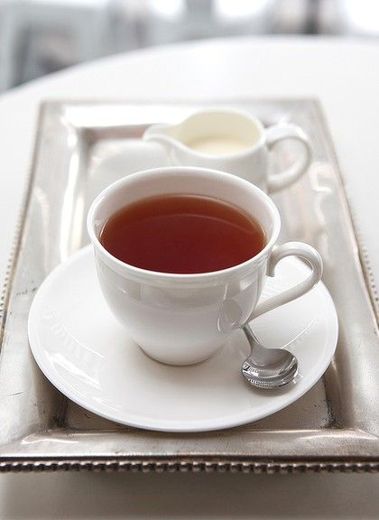 Steamy Hot Black Tea...Deee-lish!