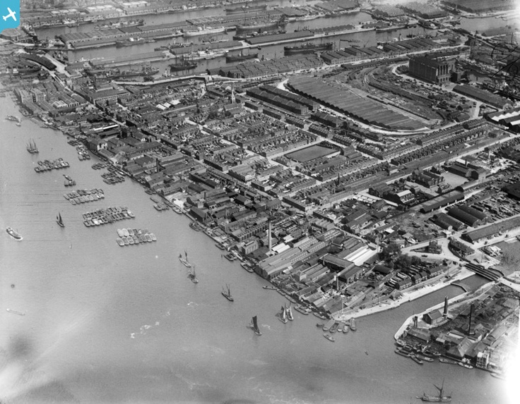 Millwall, Isle of Dogs, 1921