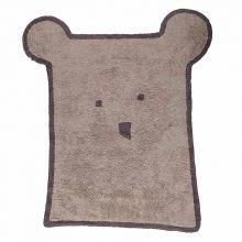 Teppich Washable Baumwolle Bear linen 120x175 Latex base von Lorena Canals