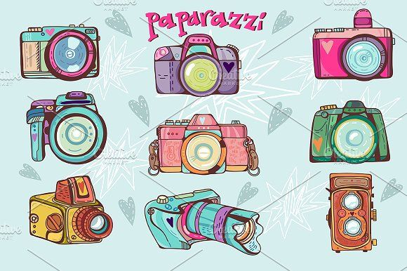 Paparazzi by marushabelle on @creativemarket