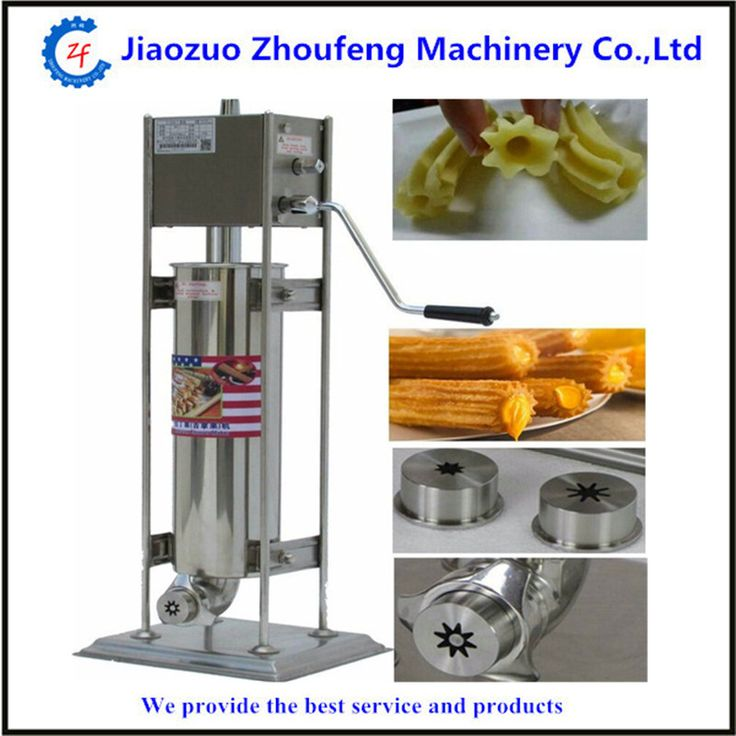 3L manual churros maker commercial stainless steel churro machine brand new
