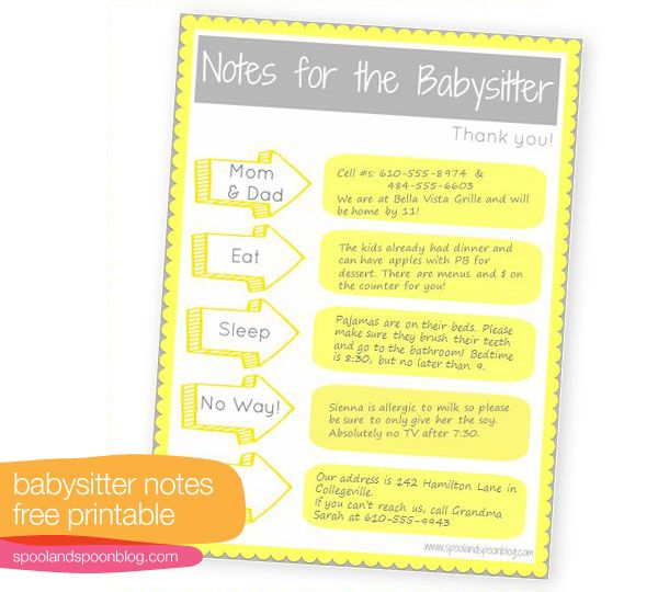 babysitter-notes-printable: Babysitters Info, Babysitter Notes Prints Repin, Kids Cutekidsstuff, Cutekidsstuff Ideasforkid, Ideasforkid Baby, Babysitters Printable, Kiser Kids, Babysitter Printable, Babysitters Note