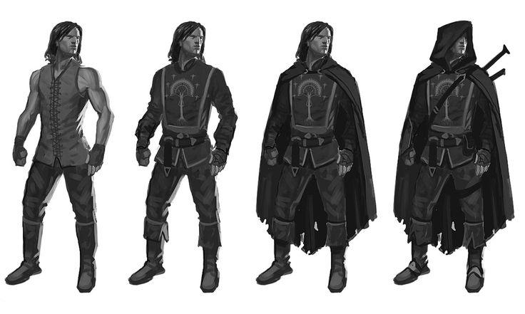 Ranger Base Design, Shadow of Mordor