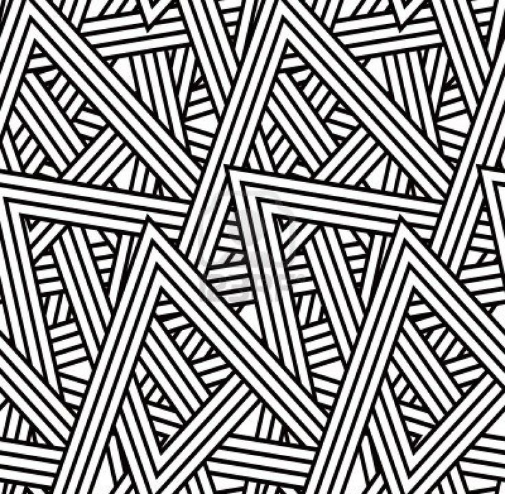 seamless triangle pattern black white triangle pattern