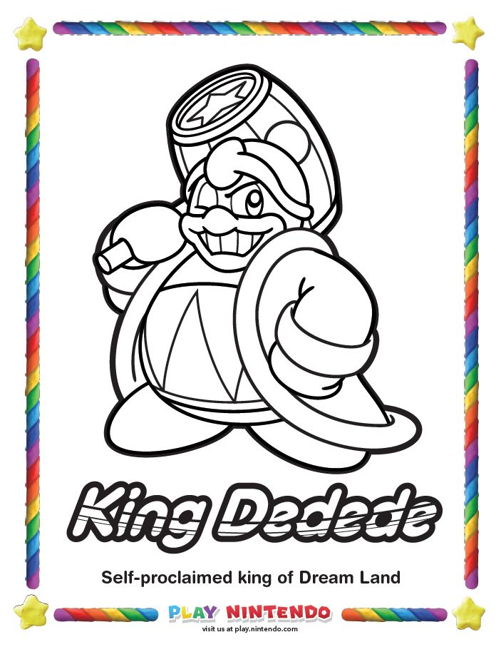 105 best Kirby images on Pinterest | Colouring pages, Kitty cats and Pdf
