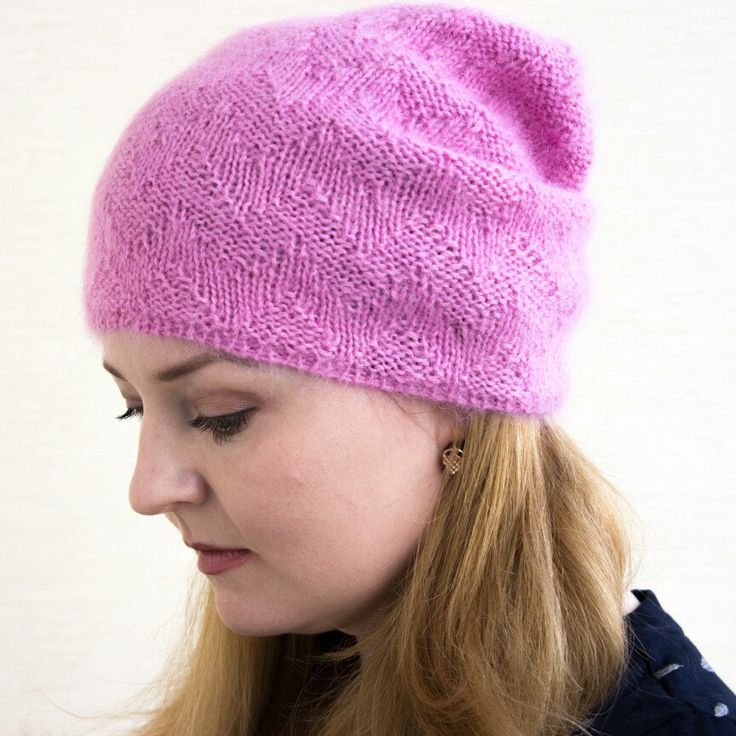 Although winter is over, but it will start again. Be sure you'll be ready to it with this mohair hat.