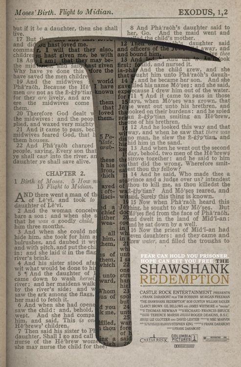 Poster alternativo de Cadena Perpetua (The Shawshank Redemption)