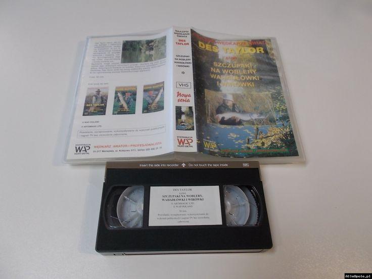 SZCZUPAKI NA WOBLERY - VHS Kaseta Video - Opole 1702 (Opole)