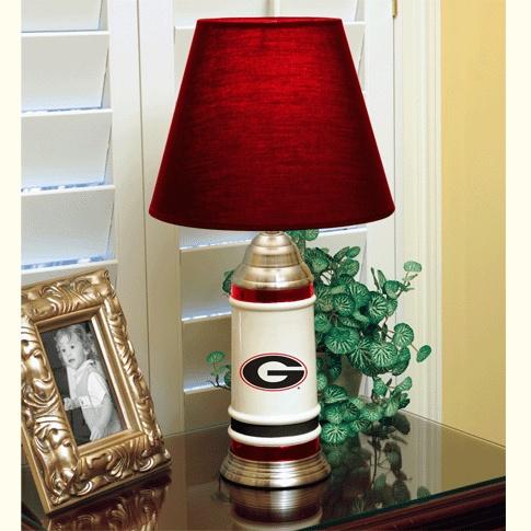 Uga Ceramic Table Lamp University Of Georgia 22 Quot Table