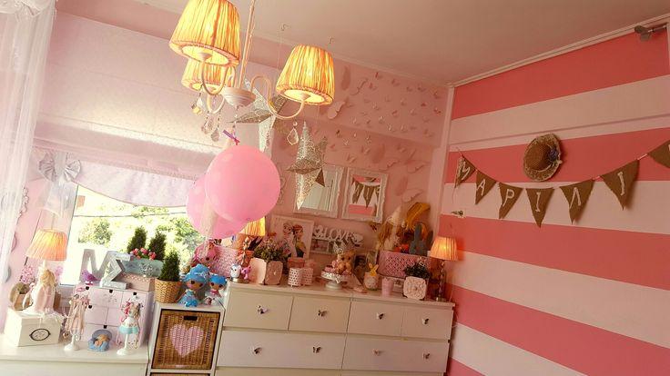 Kids room  romantic  girl