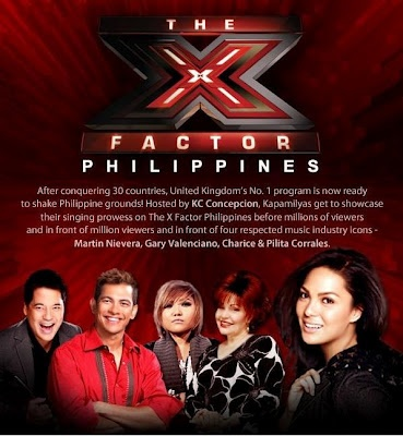 The X Factor Philippines ABS-CBN Kapamilya | X Factor Philippines Television Music Competition - ABS-CBN Network - Television Series