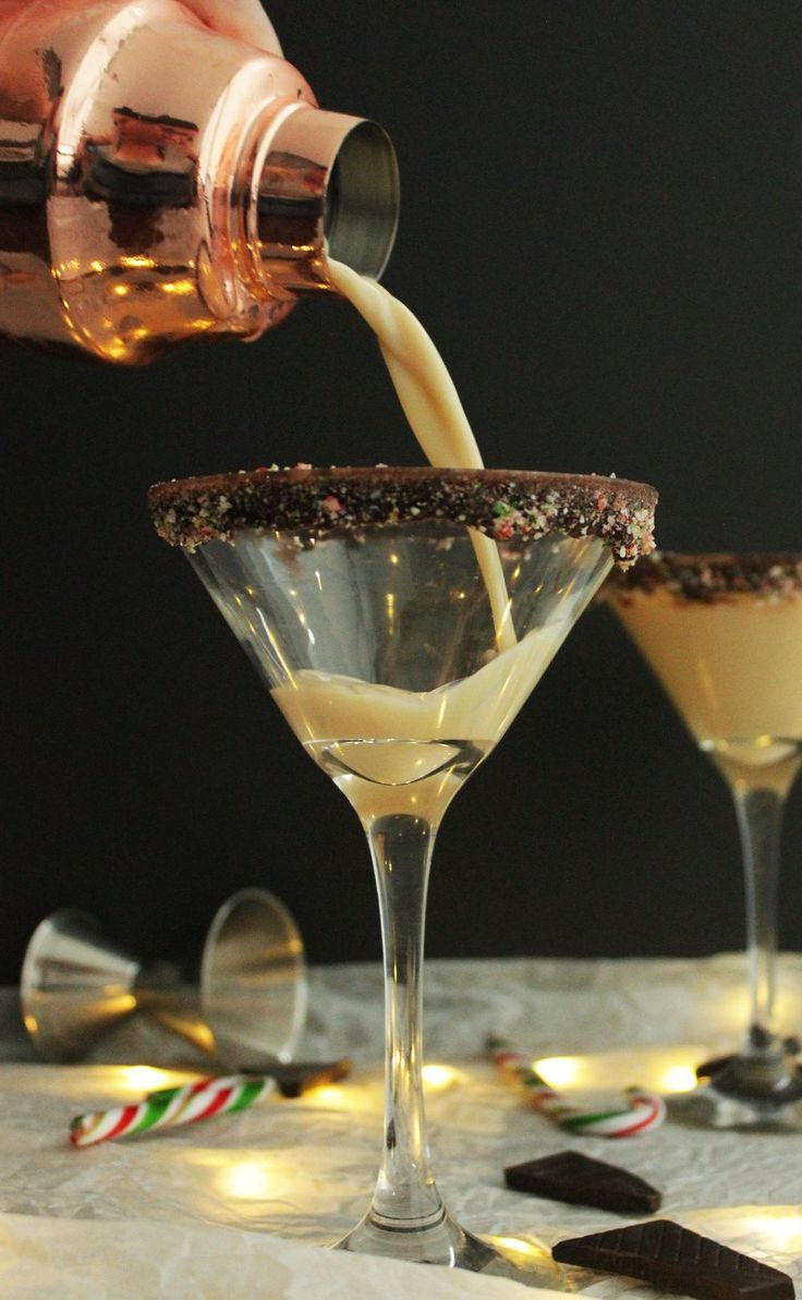 Baileys Candy Cane Cocktail