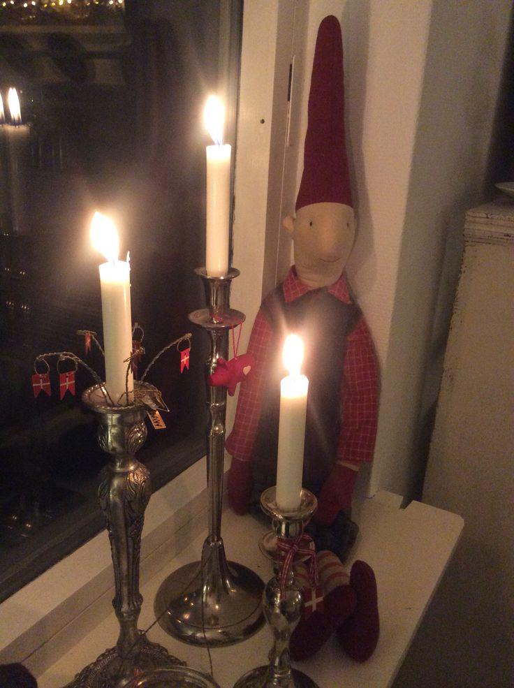 Julehygge en lørdag aften ❤️