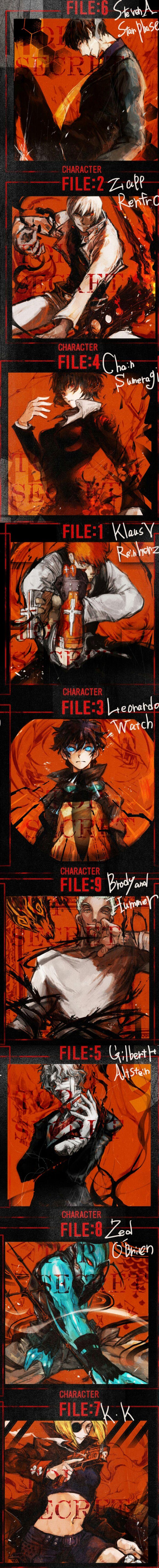 Kekkai Sensen | Libra | Character file