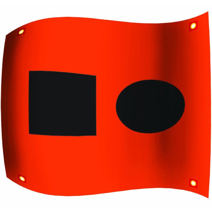 UST Ultimate Survival Technologies Distress Signal Flag