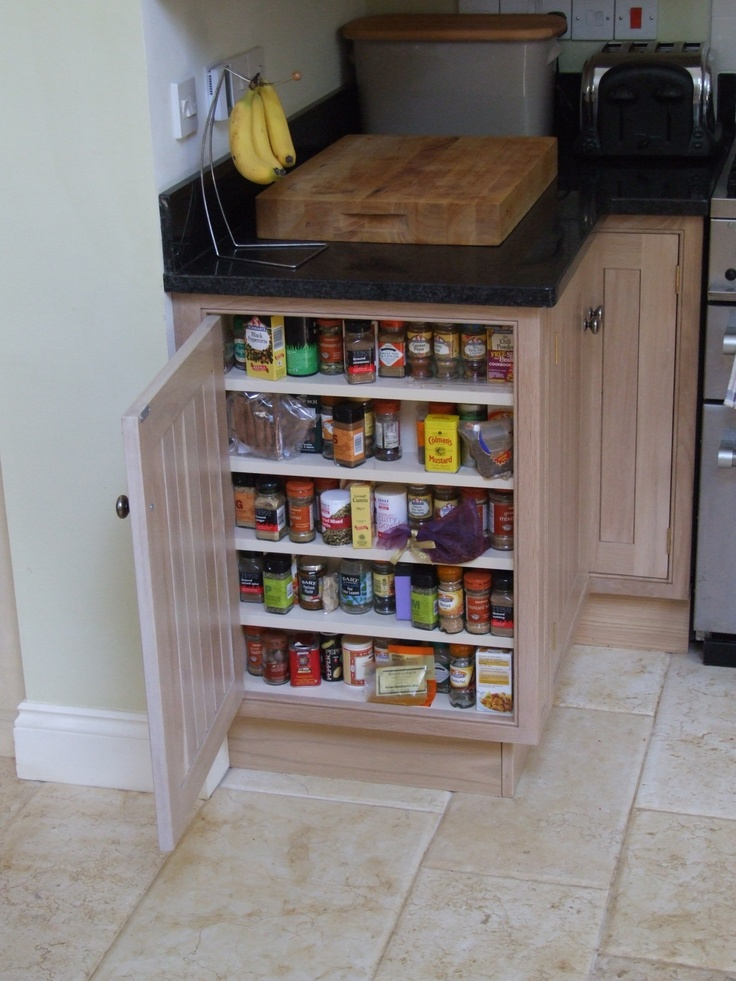 Great space-saving idea. www.countrykitchensofdevon.com 01363 877348 ckitchensdevon@gmail.com  I have this at the end of my counter in my camper and I love it, would be great for a small house with limited space.