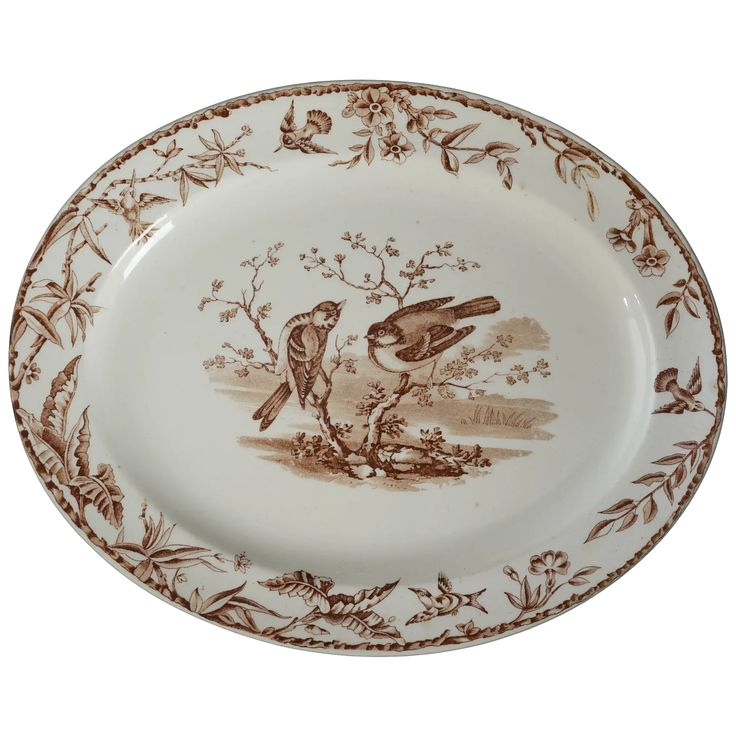 Victorian Transferware Indus Plate by Ridgways Late 19th