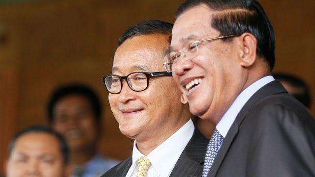 War of words between Hun Sen and Sam Rainsy continues