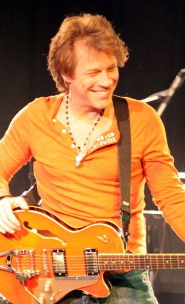 Jon Bon Jovi...