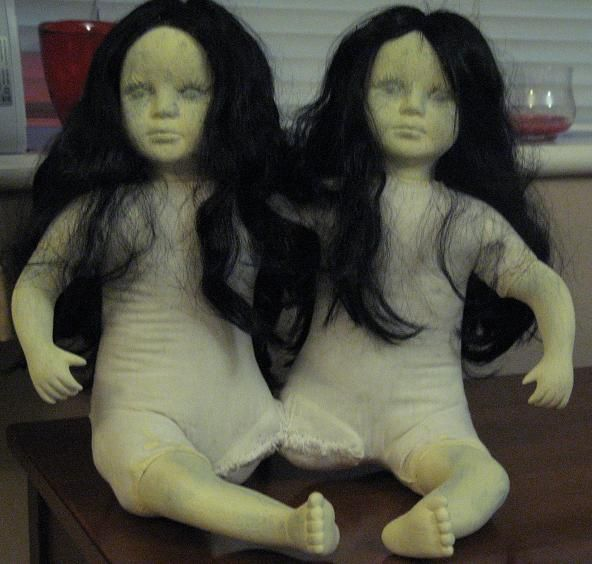 Dolls Doll makeovers (*as if they aren't creepy enough?!?)