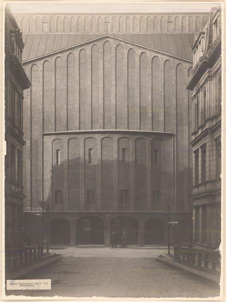 HANS POELZIG GROSSES SCHAUSPIELHAUS IN BERLIN / GREAT THEATER IN BERLIN, 1920