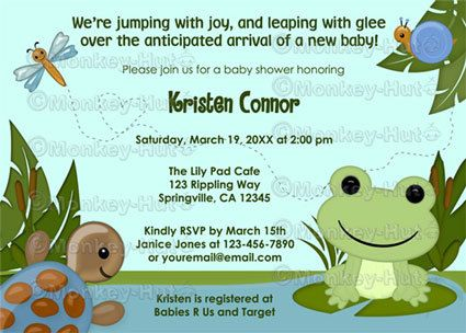 Best 25 Frog Baby Showers Ideas On Pinterest Frog Birthday