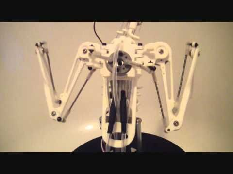 Animatronic Bird Armature (before feathers applied - YouTube