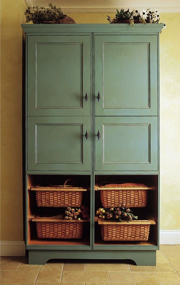 build a freestanding pantry - Diy Kitchen Pantry Ideas