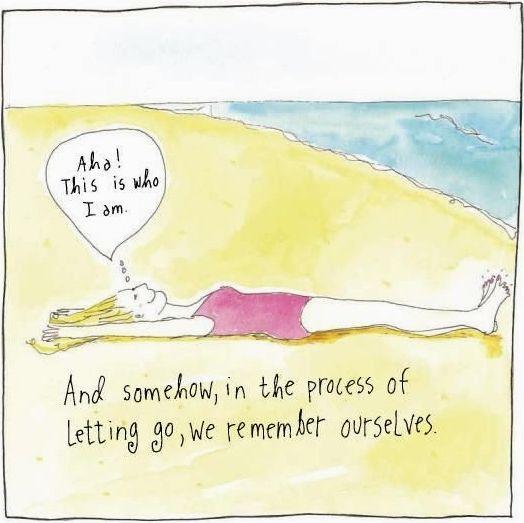 Sandy Gingras Beach Wisdom Books: http://beachblissliving.com/beach-art-illustrations-sandy-gingras/