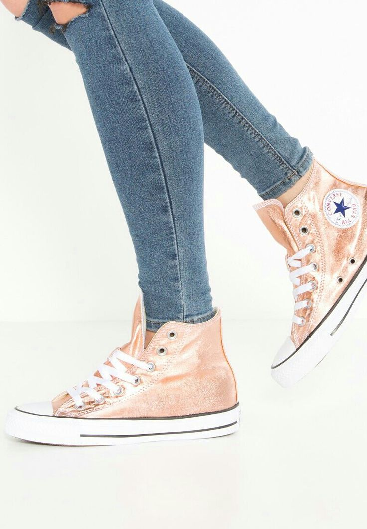 Baskets montantes Converse CHUCK TAYLOR ALL STAR - Baskets montantes -  metallic sunset glow/white/black or: € chez Zalando (au Livraison et  retours gratuits ...