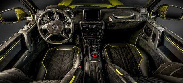 Mercedes G500 4×4²: Innenraumveredelung: Schönheit, die von innen kommt: Carlex putzt die G-Klasse fürs Grobe fein heraus – Performance