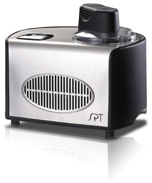 Ice Cream Maker, Stainless, 1.5 Qt. contemporary small kitchen appliances