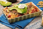 Everyone Loves This Chipotle Chicken Pasta Casserole With Avocado
