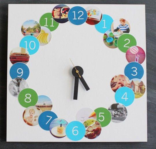 reloj con fotos regalo para mama