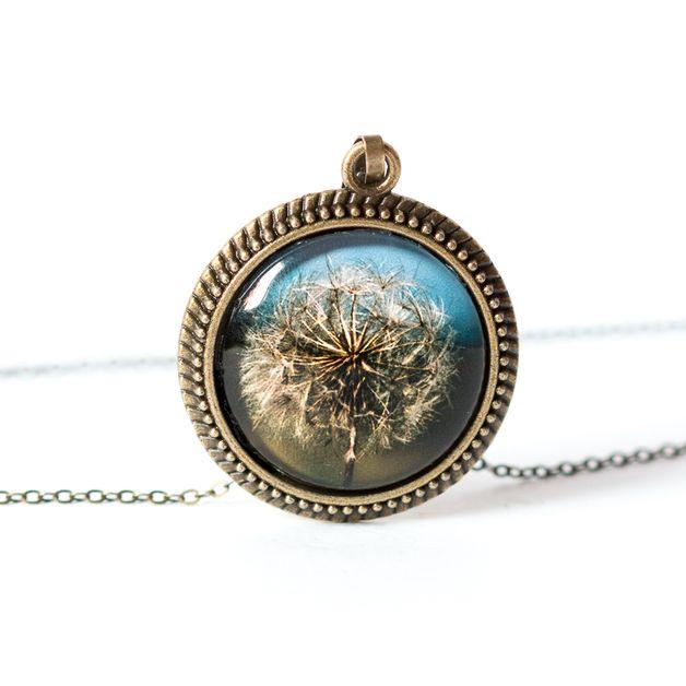 Naszyjnik z dmuchawcem / Dandelion necklace- Art-Of-Nature