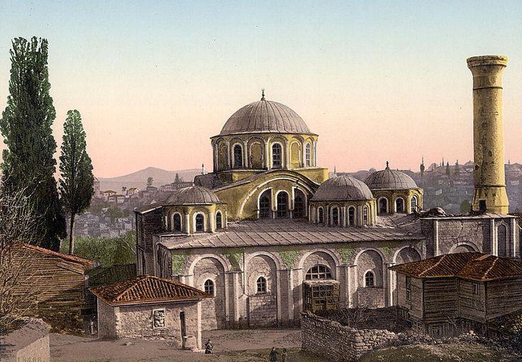 Arquitectura Bizantina. San Salvador en Chora - Kariye Camii. Siglo XIV.