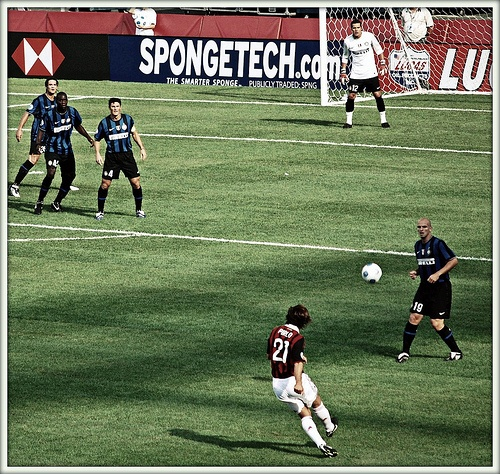World Football Challenge 2009 : AC Milan v/s Inter Milan (Foxborough, Massachusetts)