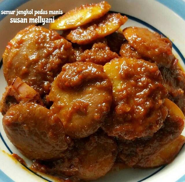 Resep Semur Jengkol Pedas Manis By Susan Mellyani Aneka Kue Dan Minuman Resep Tips Memasak Memasak