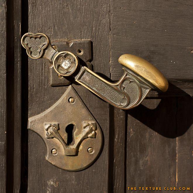 Antique church door handle detail | TheTextureClub.com - 392 Best Handle Me This.... Images On Pinterest Lever Door