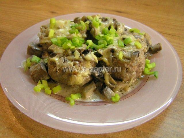 Тефтели в грибном соусе от Цептер (Zepter) 2