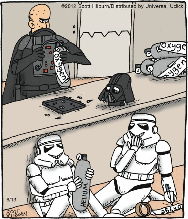 Death Star Pranks // Oh my gosh I just imagined Darth Vaders helium voice in my head...BRILLIANT