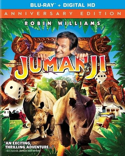 Jumanji (20th Anniversary Edition} (Blu-ray)