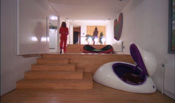clockwork orange 70s movie interiors pinterest