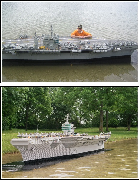 Lego Build Uss Harry S Truman Aircraft Carrier