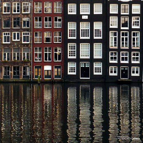 samsungcamera: Amsterdam reflections Love me some... - lavender summers and lilac dreams.