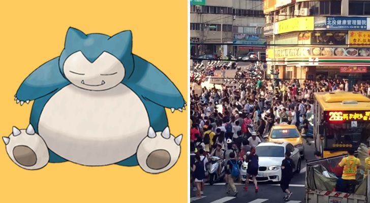 Pokemon Go Craze Reaches New Heights in Taiwan.