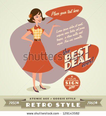 Retro vintage design