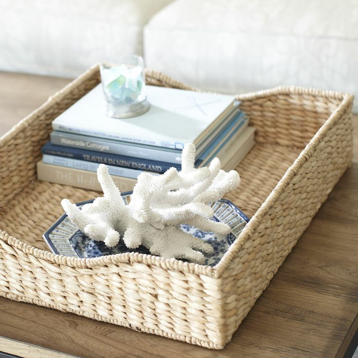 Coffee Table Stonegable: Interior Design Trends: Natural Elements. Seagrass